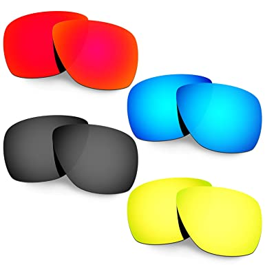 HKUCO Plus Mens Replacement Lenses For Oakley Juliet - 2 pair