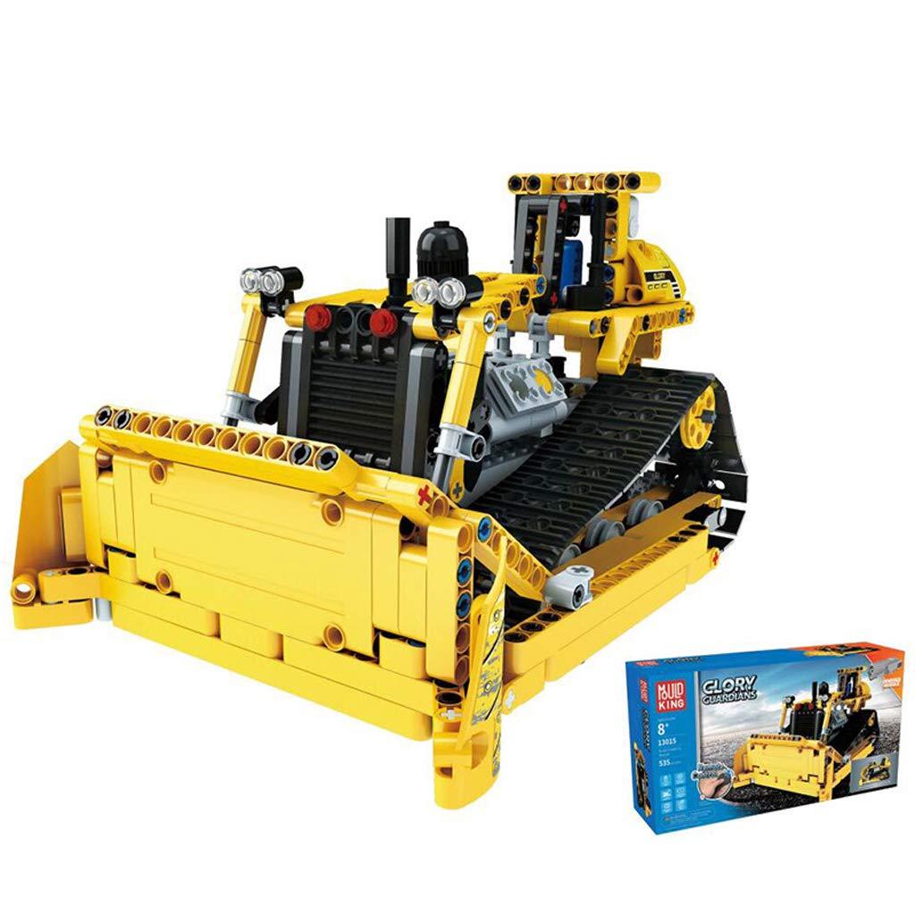 RC Bulldozer Funkgesteuerter RC Bulldozer Range Bausatz Bausatz für Kinder ab 5 Jahren geeignet
