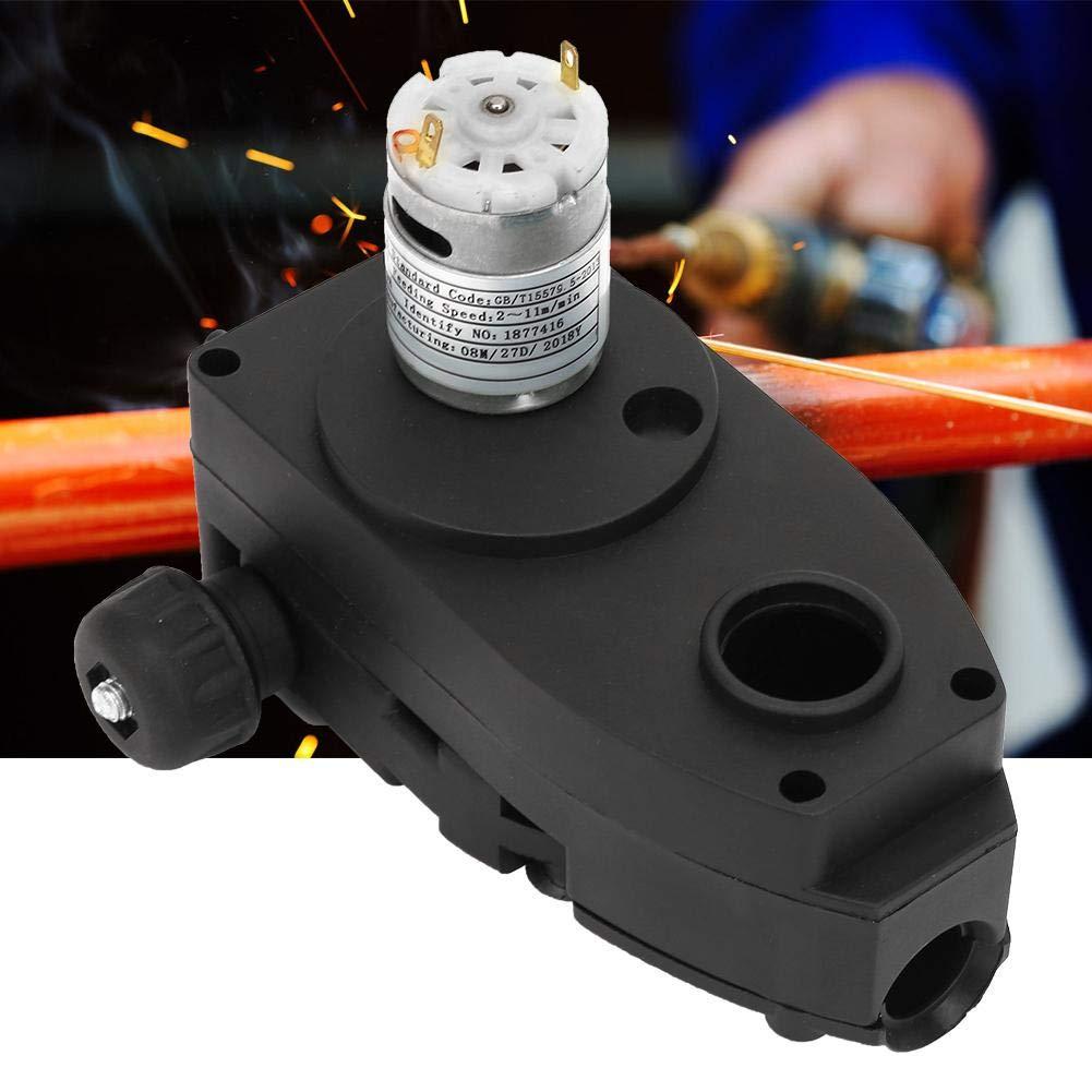 motor de alimentaci/ón de alambre de rollo de alimentador de alambre de soldador MIG DC 24V 10W para m/áquina de soldadura MIG MAG Alimentador de alambre de soldadura