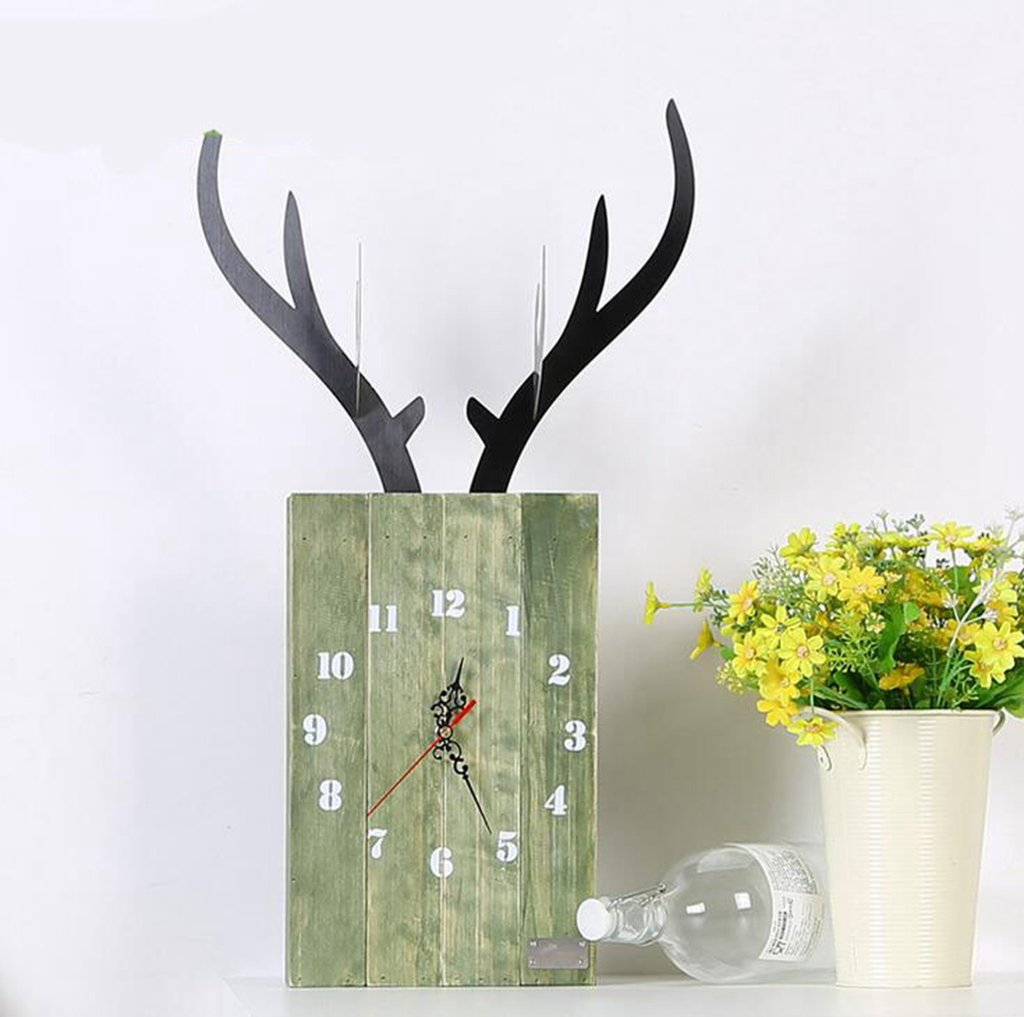 Daeou Elegant home decor, kitchen living room bedroom office wall clock decoration by Daeou