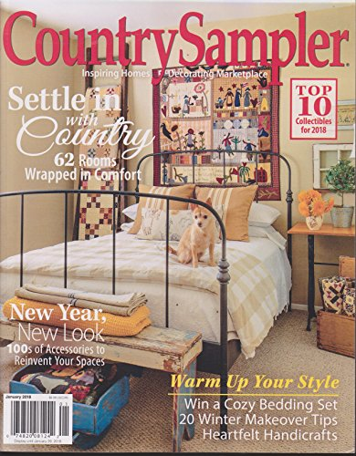 Country Sampler Magazine January 2018 -