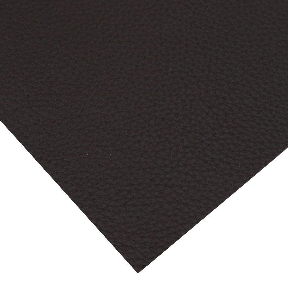 David accessories Solid Color PU Leather Fabric Plain Litchi Fabric Cotton Back 10 pcs 8'' x 13'' (20cm x 34cm) for Making Bags Craft DIY Sewing Assorted Colors (Dark Color) by David accessories (Image #5)