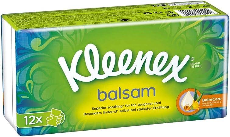 Kleenex Balsam Taschentücher Box mit pflegender Ringelblumenbalsam