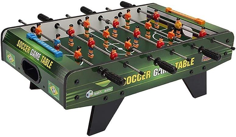 Futbolines Juguetes For Niños De Escritorio De Madera Maciza For Adultos Escritorio Futbol Hockey Juego De Soportes (Color : Dark Green, Size : 68 * 39.5 * 22cm): Amazon.es: Hogar