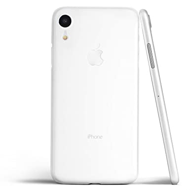 pretty nice d78be 88f08 totallee Thin iPhone XR Case, Thinnest Cover Ultra Slim Minimal - For Apple  iPhone XR (2018) (Frosted Clear)