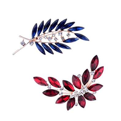 42ebf51fd92 FannyShop Diamond-Bordered Flower Brooch Pin, Vintage Maple Leaves Brooch  Pins & Flying Peace Dove Collar Pin, Women's Antique Brooch Pins Retro  Maple Leaf ...