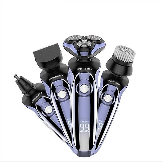 Shfmx Afeitadora eléctrica Razor para Hombres Multi-función de ...