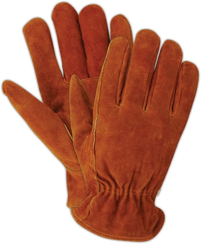 Magid TB440ET-S Mens Pro Grade Collection Foam-Lined Suede Gloves Small