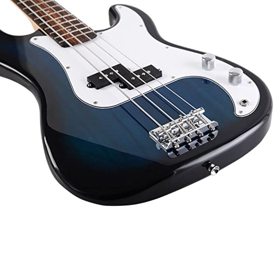 Amazon Com Goplus Electric Bass Guitar Full Size 4 String With