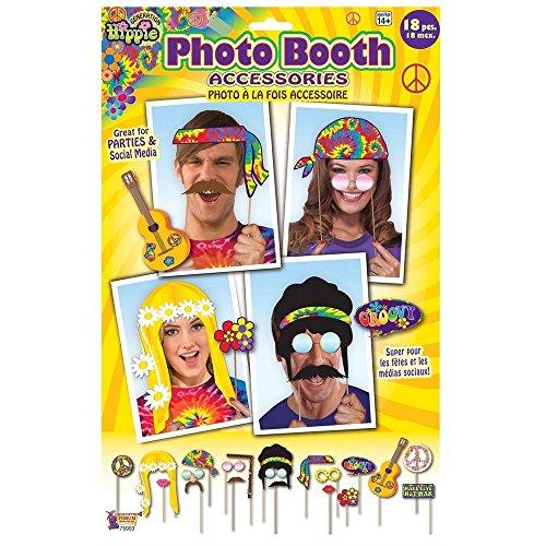 Dal Decoro Operato Photo Vestito '70 60s Groove Anni Hippie Partito Hippy Booth Accessori 7IBqyxFwX