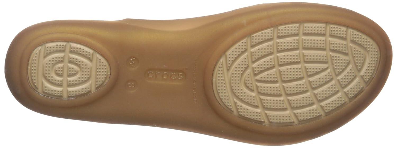 Crocs Isabellafltsndl, Ballerine DonnaOro (Bronze) (Bronze) (Bronze) cfe3b4