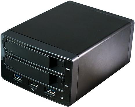 HornetTek MultiBay USB 3.0 2-Bay 2.5