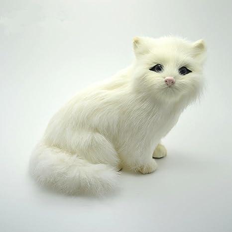 Colorfu lwrold Peluche vida real gato bebé de peluche juguete Niño Juguete simulations Gatos marioneta de