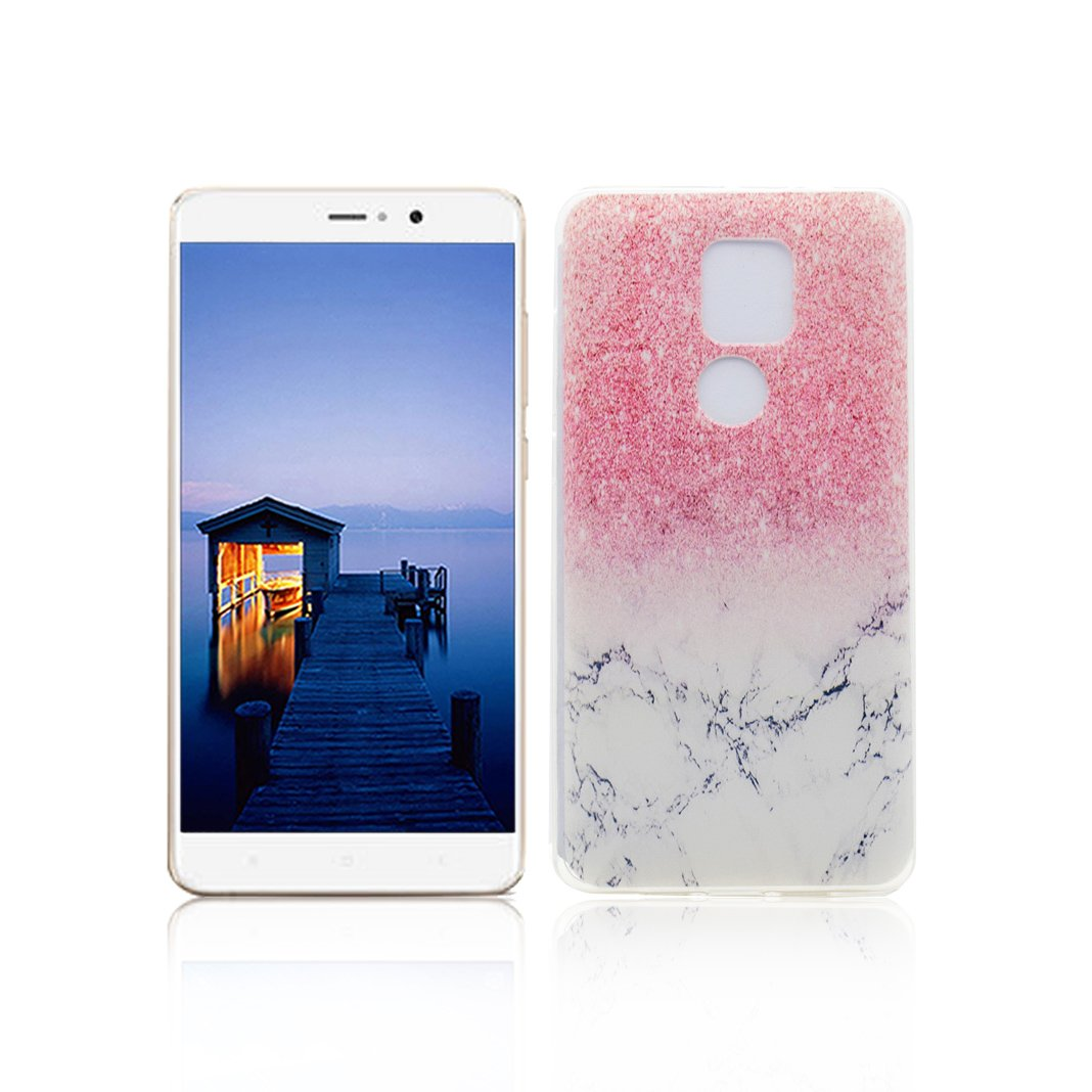 Funda XiaoMi Mi 5S Plus Carcasa Protectora OuDu Funda para XiaoMi Mi 5S Plus Caso Silicona TPU Funda Suave Soft Silicone Case - Mármol