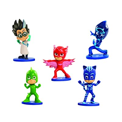 PJ Masks Collectible Figure Set - 5 Pack: Toys & Games