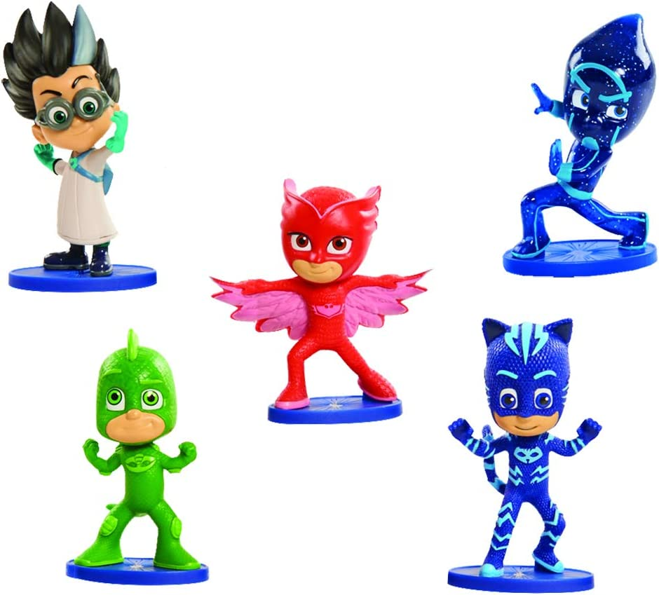 Just Play PJ Masks Collectible Figure Set (5 Pack)