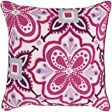 Surya Kate Spain KS010-2020P Synthetic Fill Pillow, 20 by 20-Inch, Magenta