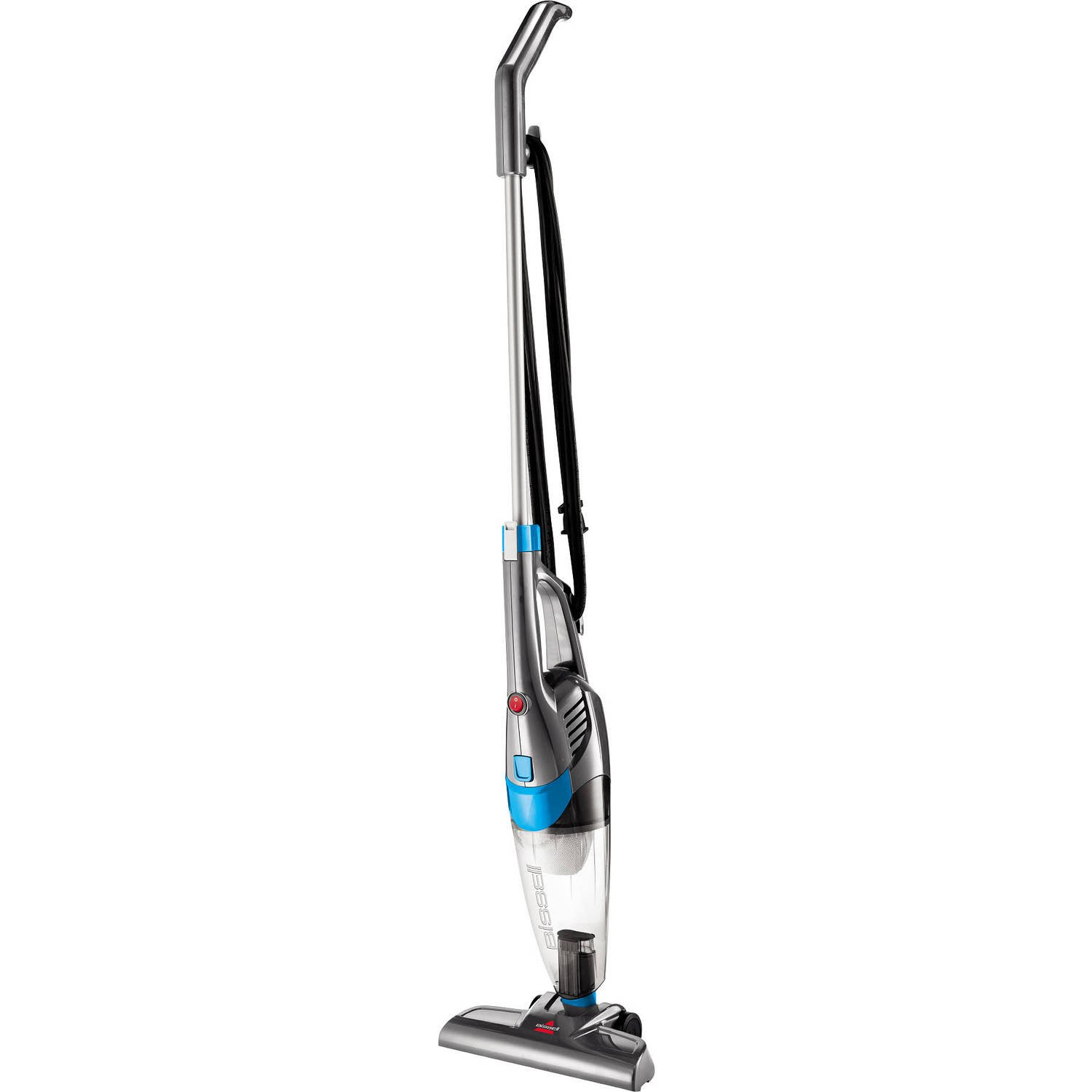 NEW Bissell 3 in 1 Lightweight Stick Hand Vacuum Cleaner, Corded - Convertible to Handheld Vac, Grey