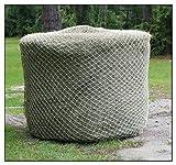 """4' x 5' round Bale Slow Feeder Hay Net 2"""" - #48 480 lb. Test"""