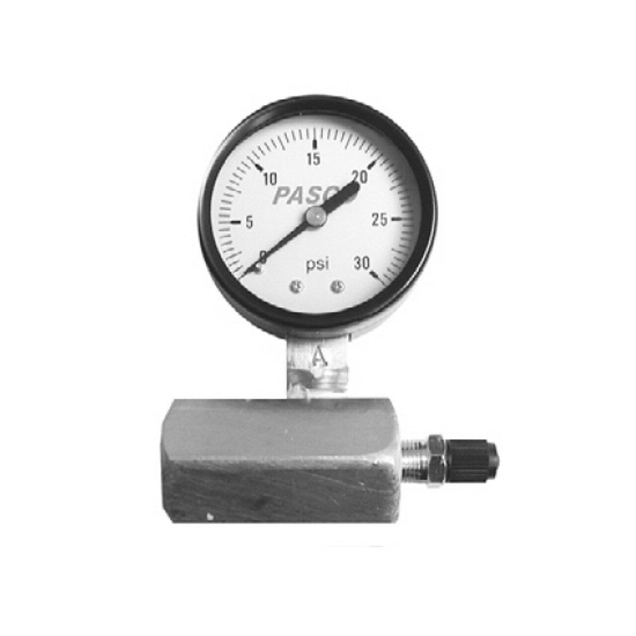 Pasco 1420 60-Pound Gas Test Gauge Assembly
