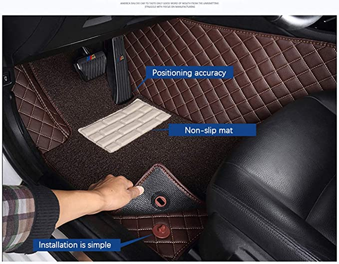 HCDSUSN Leather Car Trunk Mats,for Lincoln All Models Navigator MKZ MKS MKC MKX MKT car Accessories Custom Cargo Liner