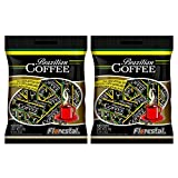 coffee bar candy - Florestal Coffee Candy, Authentic Real Brazilian Coffee Flavored Hard Treats - Gluten Free - 96 Pieces (360 g)
