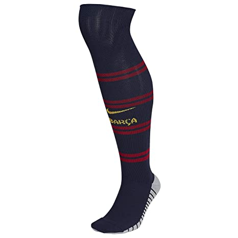 e08db05ce67b Amazon.com  NIKE 2018-2019 Barcelona Home Socks (Navy)  Sports   Outdoors