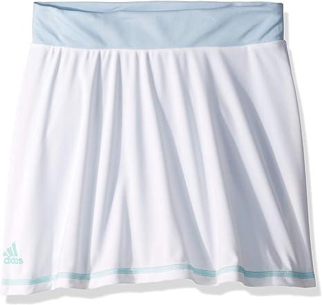 adidas Falda de Parley para niñas, niña, S1907W353G, White/Easy ...