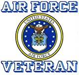 usaf decals - United States Air Force Veteran Car Decal US Military Gifts USAF Products