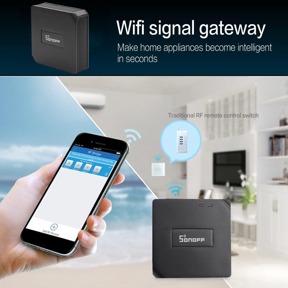 Smart Switch Snoff WiFi 433 MHz Fernbedienung universal app ...