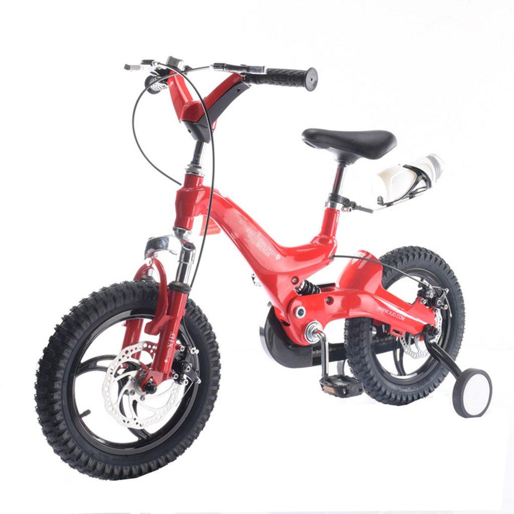 キッズ自転車バイク3-8歳良い伸縮性の男の子と女の子マウンテンベイビーレッド100kg (サイズ さいず : 14inch) B07F2G56DV 14inch 14inch
