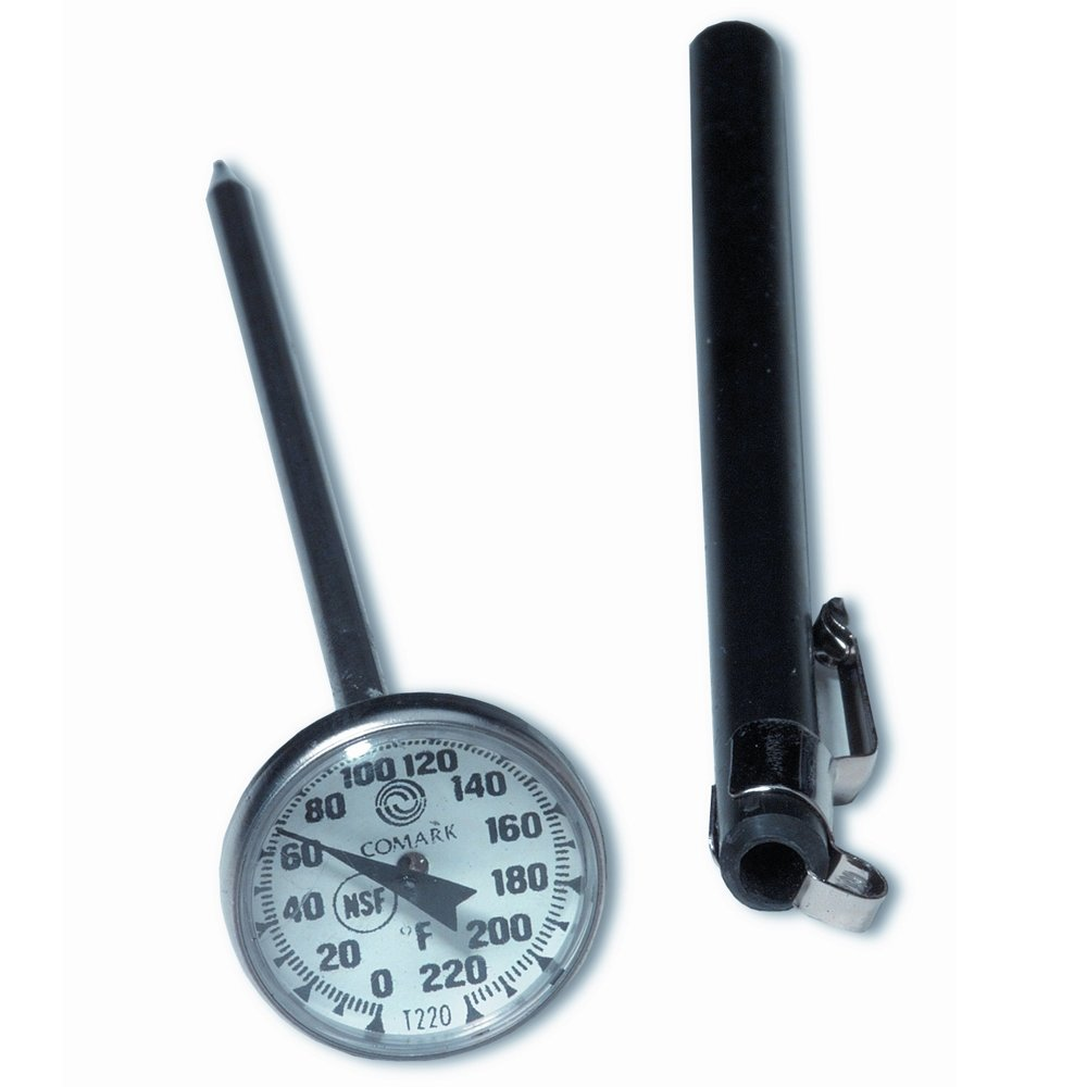 UltraSource Pocket Dial Thermometer, 1'' Dial