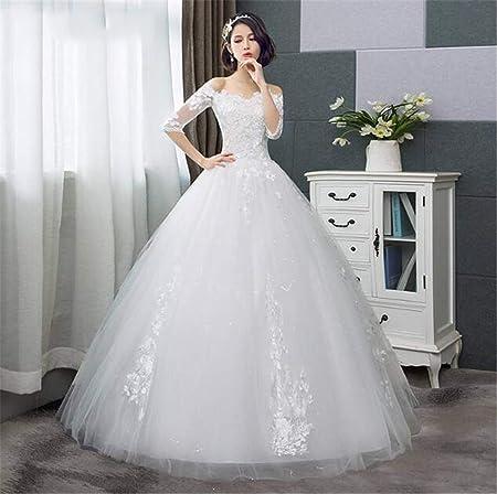 He-shop Robe de mariée Fashion Manches Courtes