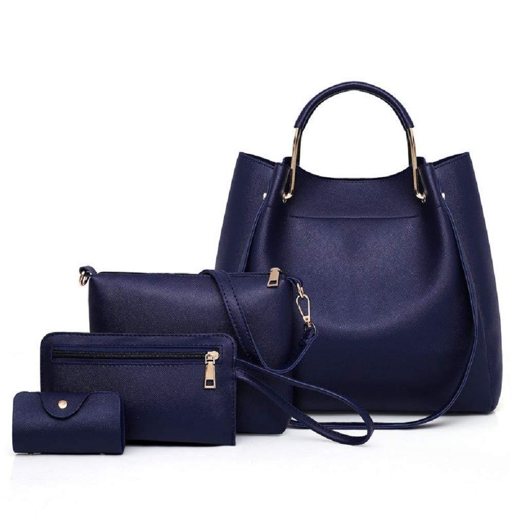 bluee TP Womens Handbag Purse Collection  Satchel Tote Shoulder Bag Wallet Keychain