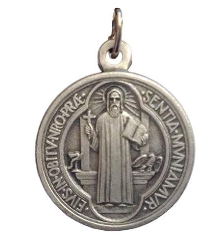 6c221059608 Medalla de San Benito - Las medallas de Los Patronos  Amazon.es  Joyería