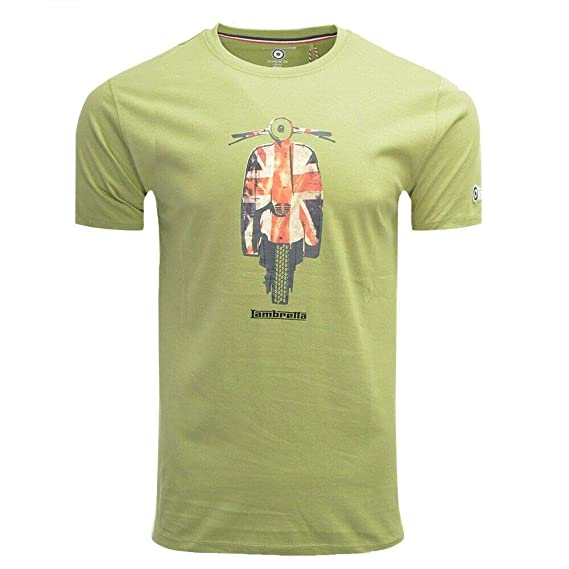 Lambretta Union Scooter tee Camiseta para Hombre: Amazon.es: Ropa ...