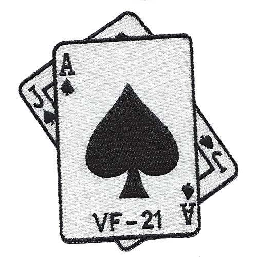 (VF-21 Fighter Squadron Patch WWII Blackjacks)