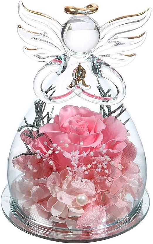 Amazon.com: AnlUNOB Forever Rose - Flor eterna, regalo de ...