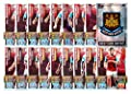 Match Attax 2015/2016 > West Ham United 17 Base Cards + Club Badge