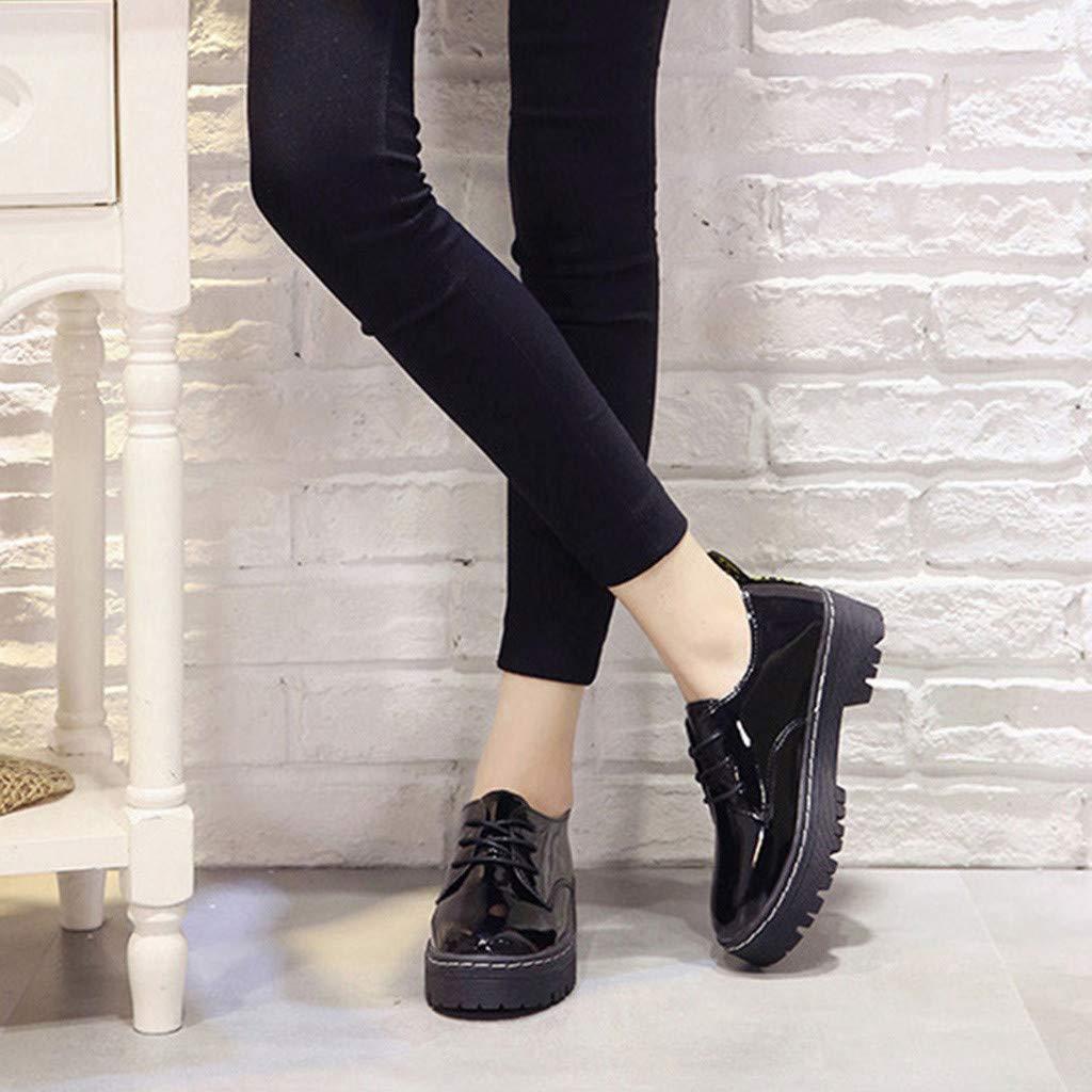 9b6ea399b1604 Amazon.com: Xinantime Women's Classic Slip-On Platform Square Heel ...
