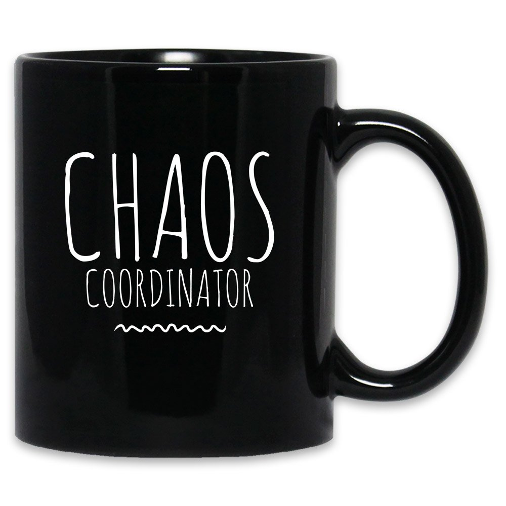 Amazon Funny Chaos Coordinator Mug Stay At Home Mom Mothers Day Sarcasm Sarcastic Christmas Or Birthday Gift