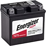 Energizer - ETZ7S TZ7S Motorcycle and Atv 12V Battery, 130 Cold Cranking Amps and 6 Ahr, Replaces: CTZ7S, YTZ7S, M727ZS, YTZ7