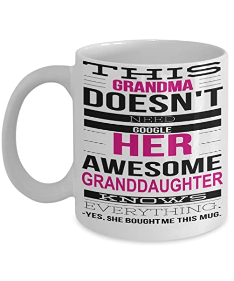 amazon com best grandma mug great grandma gifts cup