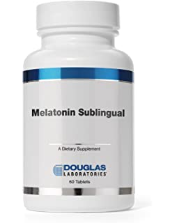 Douglas Laboratories - Melatonin Sublingual - Supports Sleep/Wake Cycles* (3 mg)