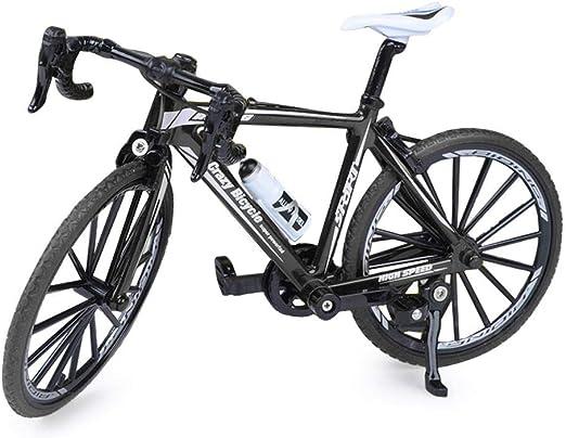 Starnearby Bicicleta Miniatura,Bicicleta Dedos 1: 8 Escala L ...
