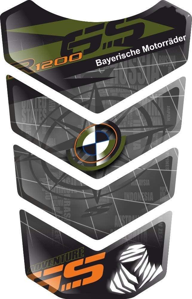 TANKSCHUTZ PARASERBATOIO ADESIVO TANKPAD RESINATO EFFETTO 3D compatibile con BM.W R1200GS R 1200 R-1200-GS BM.W-R1200GS GS Adventure ADV GS-Adv v3 PROTECTION DE RESEVOIR