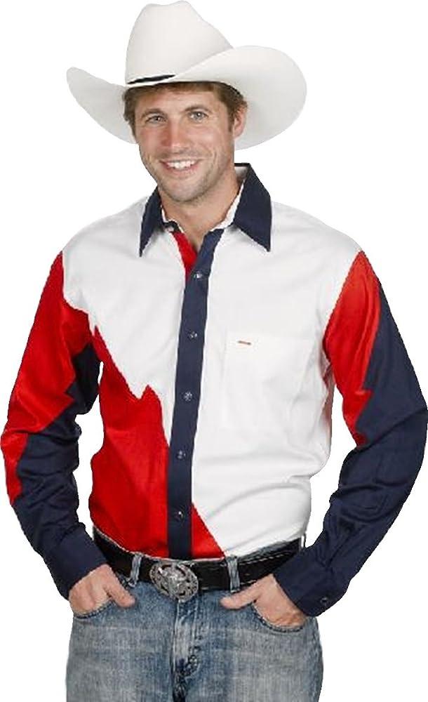 Western Express - Camisa casual - para hombre blanco Small: Amazon.es: Ropa y accesorios