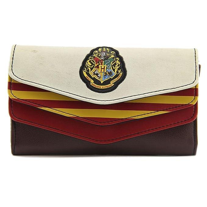 Bioworld Hogwarts Crest Wristlet Mujer Burdeos Carteras: Amazon.es: Ropa y accesorios