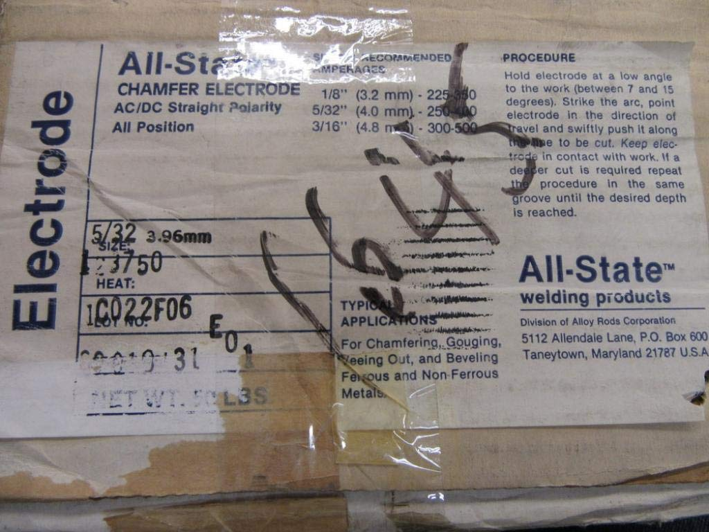 """16 Hobart Stick Electrodes 3//32/"""" Welding//Cutting//Chamfering New"""