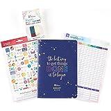 Erin Condren Designer Petite Planner Budget Starter Pack - Includes Budget Petite Planner, Monthly Bill Tracker Dashboard & Designer Paper Tape Duo, Functional Stickers